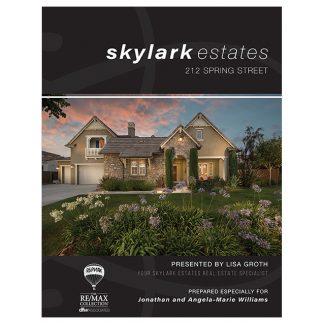 11x17 Black Property Brochure Portrait - Front